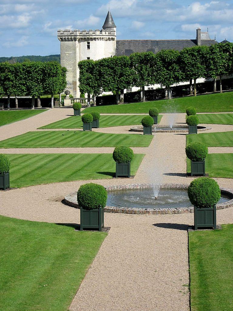 French formal garden design